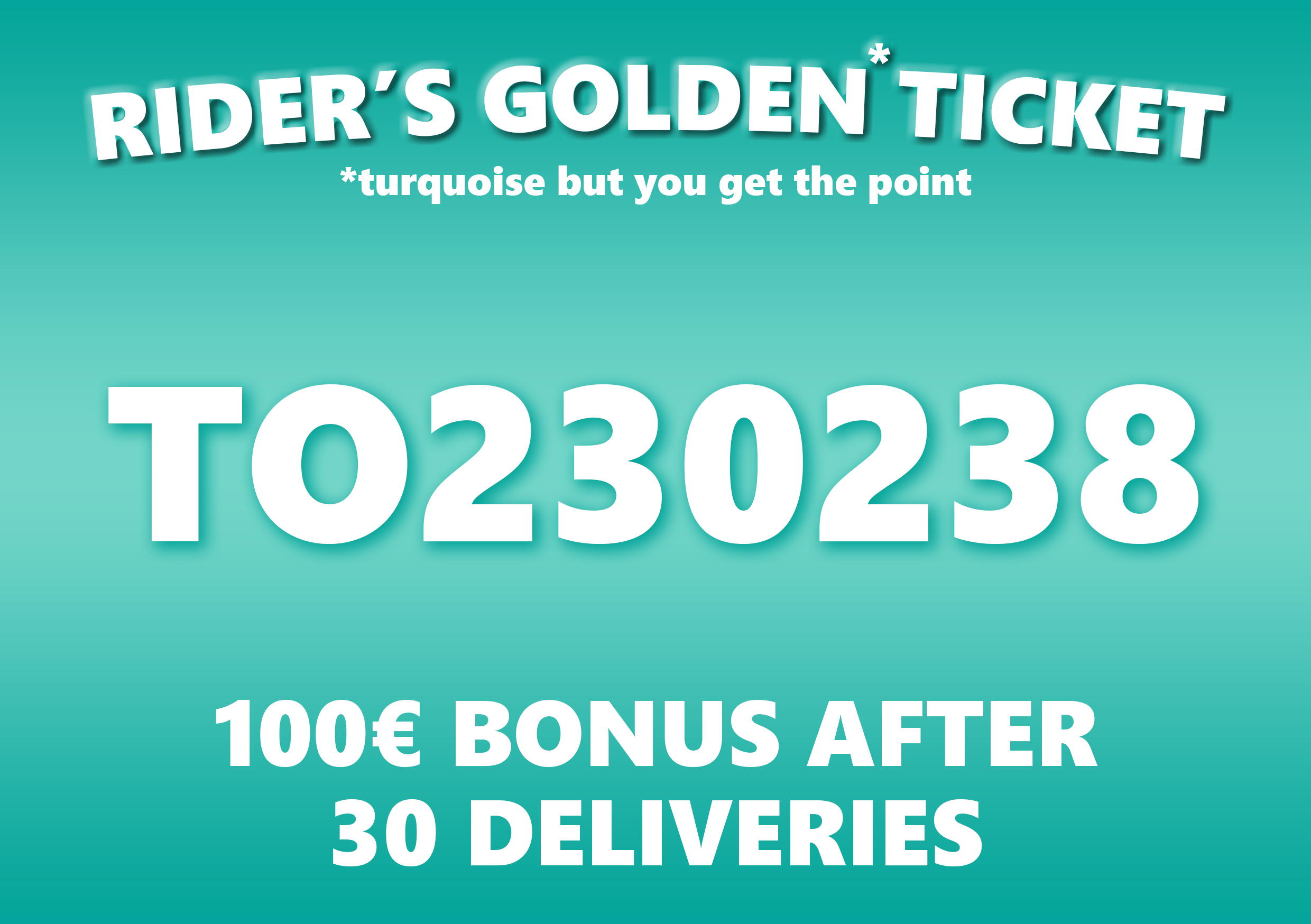 Deliveroo Rider Promo Code for Netherlands