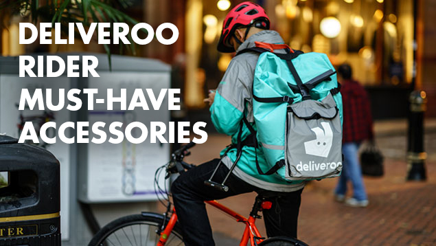 10 Must Have Bike Accessories for Every Deliveroo Rider [Part 1]